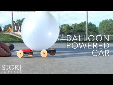 Balloon Powered Car - Sick Science! #089
