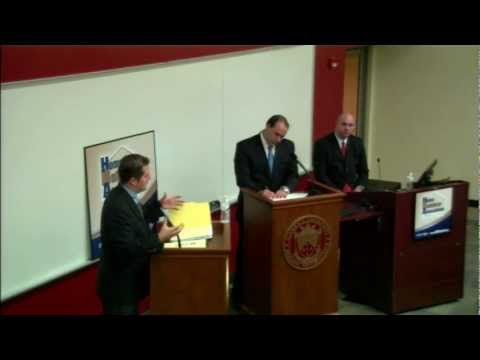 Foreclosures & Property Tax - Cox vs. Saar Debate - PA House of Reps 129th District - 23 Oct 12