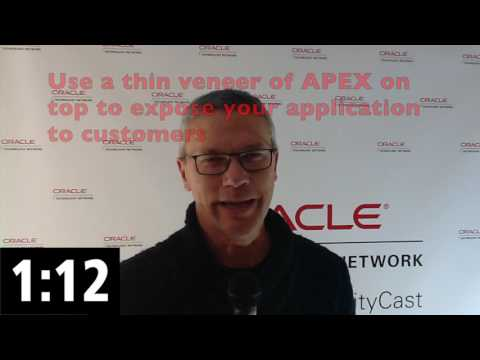 Structuring Your APEX Application