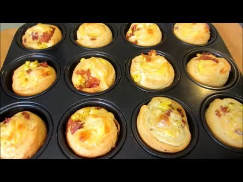 Bacon Egg and Cheese Breakfast Bites