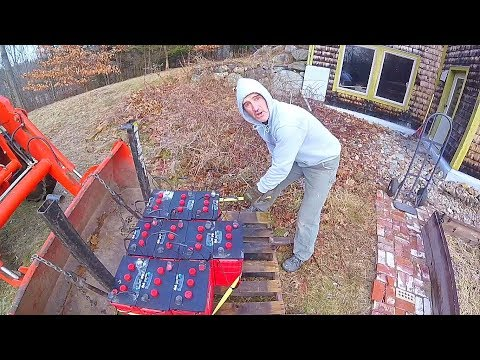 Off-grid Battery Replacement