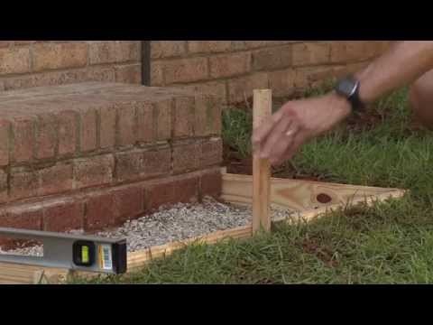 How To Pour and Finish a Small Concrete Slab