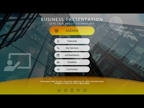 How To Design Agenda, Index, Table of Contents Slide in Microsoft Office PowerPoint PPT