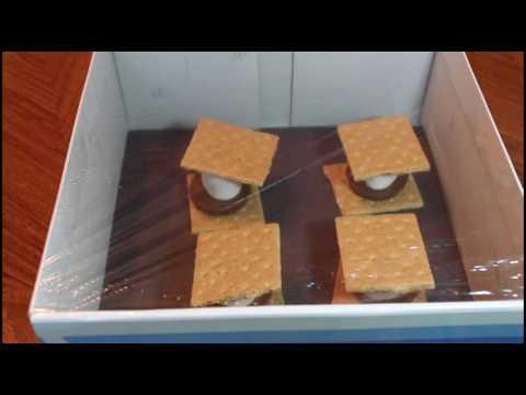 DIY Smores Solar Oven
