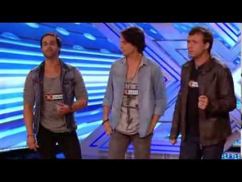 The X Factor UK 2013 - Next of Kin sing original song Can't Find Me Auditions