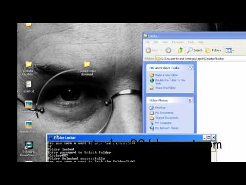 Folder Locker Creation without Software