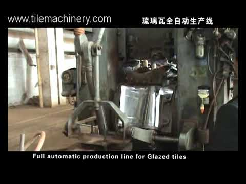 clay roofing tile making machine