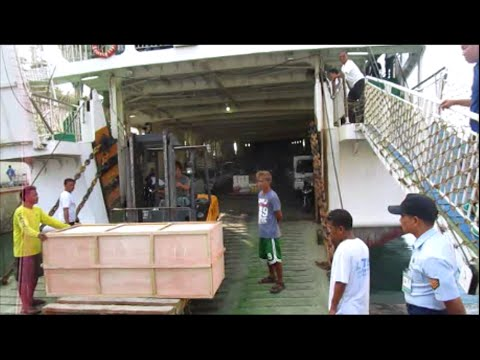 Documents and loading RoRo Ferry for Bohol from Cebu City ~ Philippines