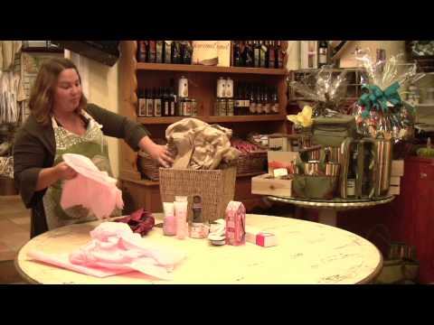 Gift Baskets : How to Make a Spa Gift Basket