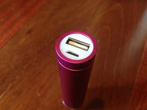 Unboxing/Review of the EPCTEK 2600mAh Portable Charger for iPhone/iPod Touch