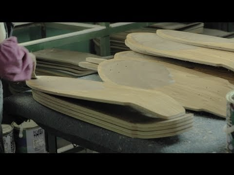 How Skateboards Are Made: Inside the DSM Premium Woodshop with Globe