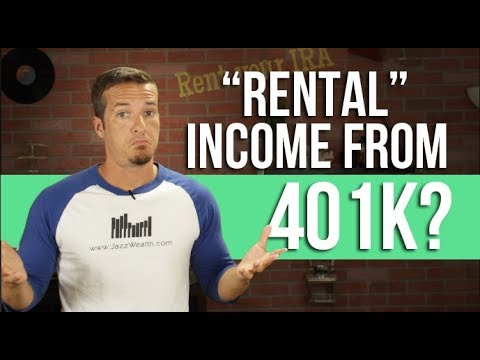 Rental income from your 401k investments?