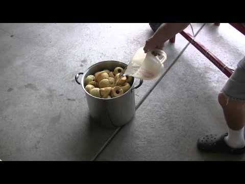 Canning Cinnamon Applesauce Part One