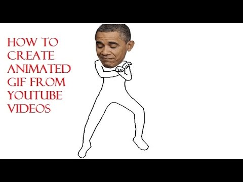 How to create an animated GIF from a youtube video!