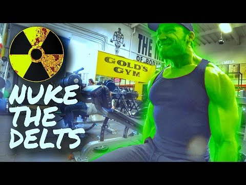 Radioactive Shoulders Workout | Buff Dudes Cutting Plan P2D3