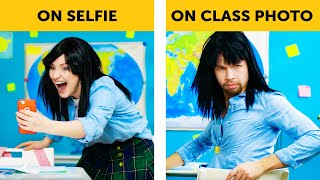 ANNOYING SITUATIONS IN SCHOOL || School life by 5-Minute FUN