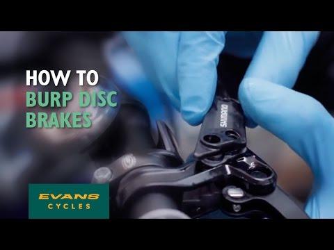 How to burp disc brakes