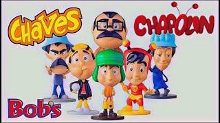 NOVA COLEÇÃO BONECOS DO CHAVES NO BOBS! PETER TOYS