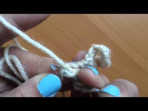 Treble crochet (US) or double treble (UK) stitch