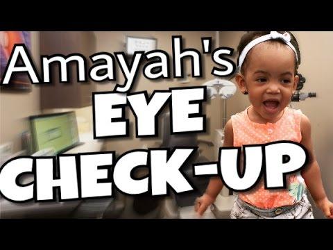 Amayah's Eye Check Up! |Mommyandkailyn