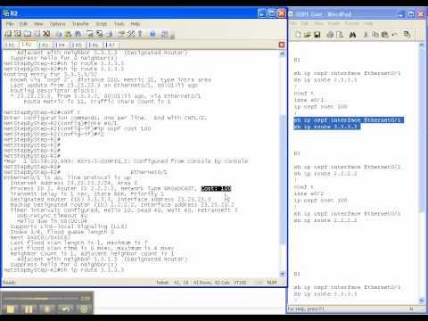 OSPF Video Cheat Sheet: OSPF Cost