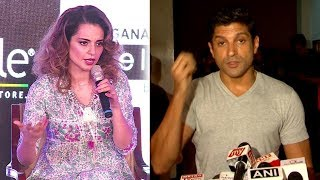 Farhan Akhtar's REACTS On Kangana Ranaut's Simran Clashing With Lucknow Central