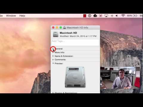 How To   Check Hard Drive Space on Mac OS X