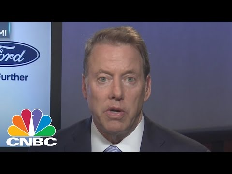 Bill Ford: I Didn't Fire Mark Fields, He Chose To Resign After A Discussion We Had | CNBC