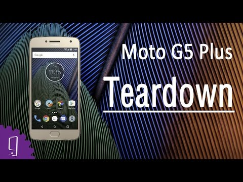 Moto G5 Plus Teardown | Disassembly