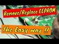 Vizio E320Vl tv repair, Cuts off, EEPROM replacement