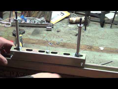 How to make a bow string jig
