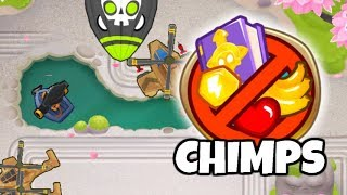 OUCH CHIMPS with Ninjas! (Black Border Run) | Bloons TD 6