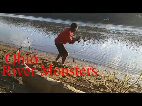 Fishing the Ohio River River view Park Louisville ky (Fishing Report 6-7-2017) The Ghetto Angler
