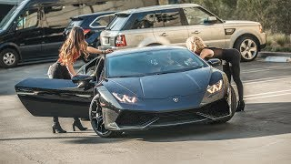 Picking Up Uber Riders In A Lamborghini Huracan Prank Hoomantv