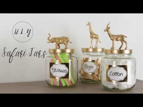 DIY Safari Jars