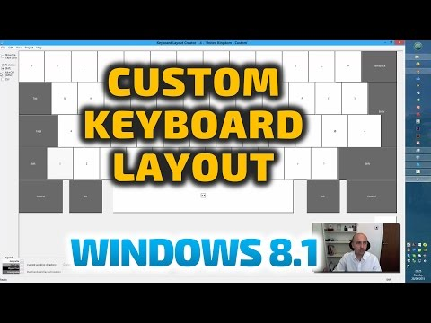 Custom Keyboard Layouts & Multi Languages in Windows 7, 8  & 10 - Microsoft Keyboard Layout Creator