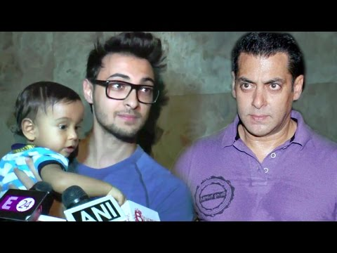 Arpita's Husband Aayush Sharma's BEST Reply On Salman Khan & Sister Arpita's Fight