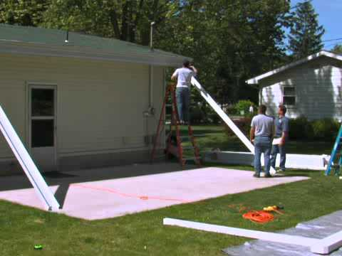 How to Install the Teton Patio Cover - Part 1