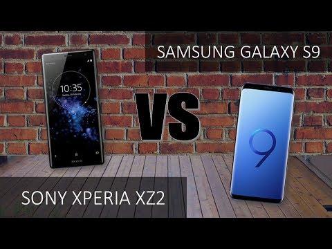 Sony Xperia XZ2  VS Samsung Galaxy S9