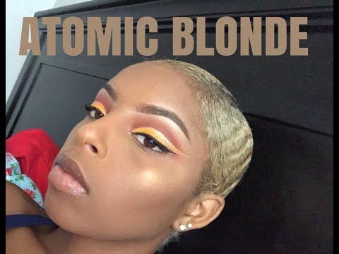 How to BLEACH NATURAL HAIR (my experience+ tips)| Azhia Tatiyana