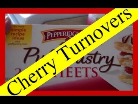 Simple Cherry Turnovers