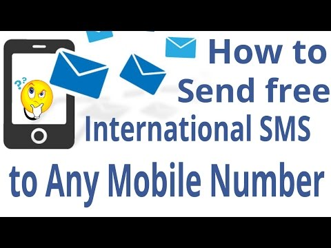 How to send free international sms to any mobile number