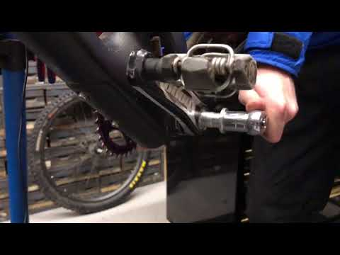 Hopetech crank removal RAW style
