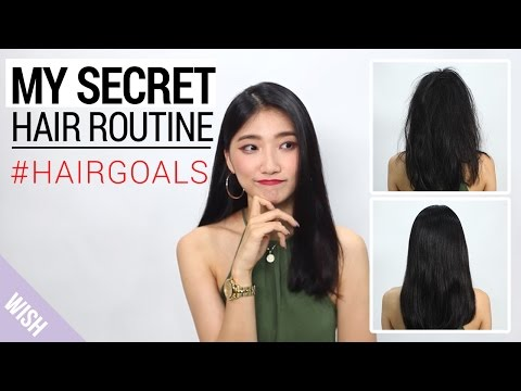 My Secret Hair Care Routine : Proper Way to Shampoo Your Hair | Wishtrend TV