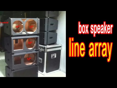 buat box sound system line array 12inch di cianjur