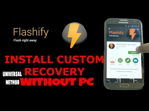 How To Install Custom Recovery (TWRP /CWM) in Android Mobile [Redmi note 3] in Hindi Without pc