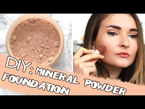 DIY:  NATURAL MINERAL POWDER FOUNDATION | From Scratch