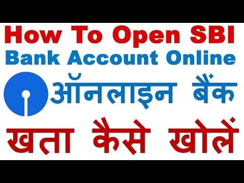 SBI Online Account Opening - Onlinesbi.com