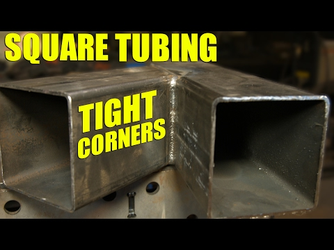🔥 GMAW Square Tubing and Inside 45° Corners