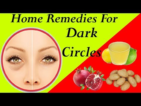 How To Get Rid Of Dark Circles Under Eyes With Top 10 Home Remedies   Best Home Treatment For Dark C